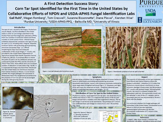 A First Detection Success Story: Corn Tar Spot Identified for the First Time in the United States by Collaborative Efforts of NPDN and USDA-APHIS Fungal Identification Labs